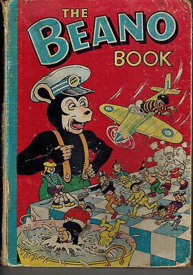 THE BEANO BOOK 1956 vintage comic annual