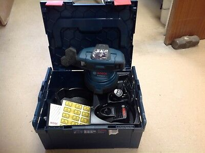 Bosch Gsl 2 Floor Laser C/w Battery Charger And Carrycase With 3 Yr Warranty