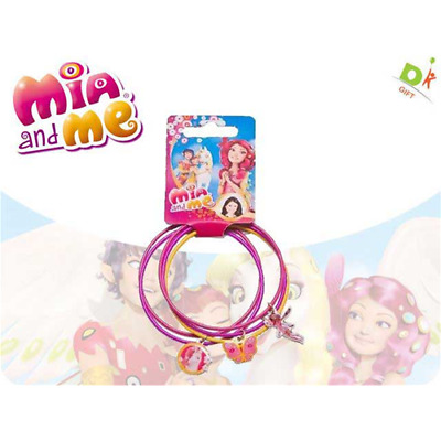 Mia And Me - Set 5 Bracciali C/ciondoli Metallo 7X7Cm Accessori Bambina