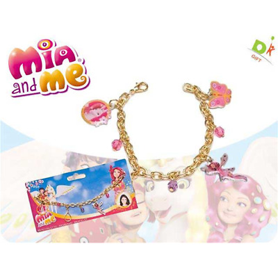 Mia And Me - Braccialetto C/ciondolo Di Metallo 18X9 Cm Accessori Bijoux Bambina