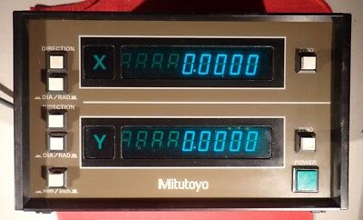 Mitutoyo X Y 164-778-5 - Model ALC-3705W Digital Readout with mounting bracket