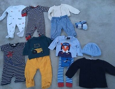 Baby Boy's Bundle 6-9 Months, Joules, Jojomamananbebe, M&S, Gap & More