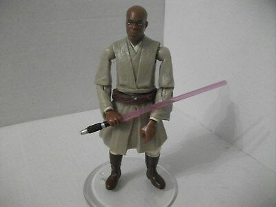 "Star Wars EP3 No.10 "" MACE WINDU Force Combat "" von 2005 lose"