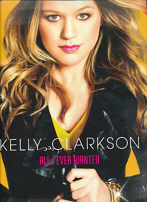 Kelly Clarkson All I Ever Wanted UK Tour Programmes