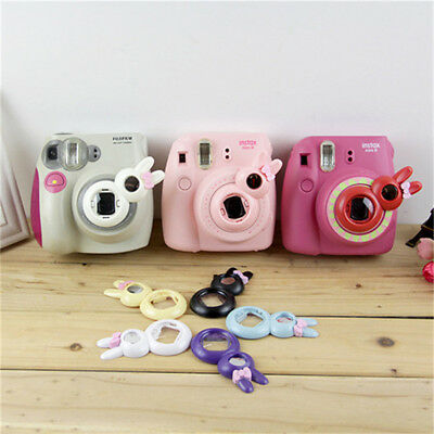 Close-UP Lens Self-Portrait Mirror rabbit style for instax Mini8/7s/8+/9 camera