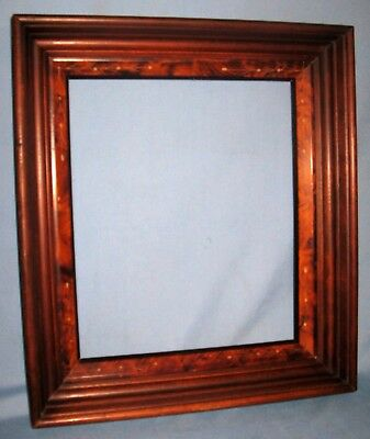 Antique Walnut East Lake Art/Picture/Portrait Frame Multiple Inserts Ca 1875