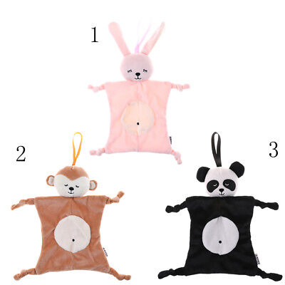 Plush Baby Security Blanket Shower Gift Stuffed Animal Toys Soft Soothing Towels