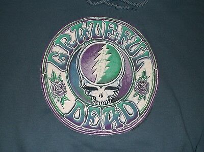 Grateful Dead Steal Your Face (L) Blue Hoodie Store Liquidation Sale