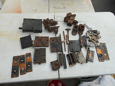 L2677- Assorted Antique Hardware- Door, Etc. - Estate Find