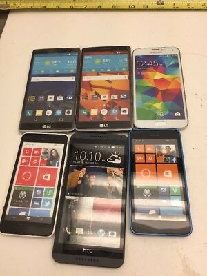 Lot Of 6 LG NOKIA HTC SAMSUNG Display Phone Only Dummy Phone Not Real Prop A6