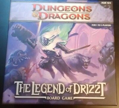 Dungenos & Dragons: Legend Of Drizzt - Boardgame