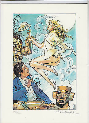 Milo Manara - Travel After Tulum - HC hu. with Pressure Numbered + Signed