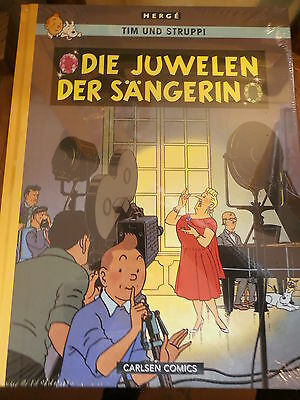 The Adventures of Tintin farbfaksimile ORIGINAL WELDED JEWELS SINGER 20