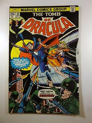 """The Tomb of Dracula #36 """"Flight of Fear!""""  Fine+ Condition!!"""