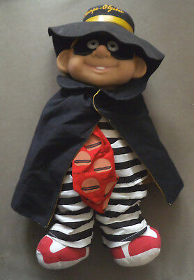 Vintage McDonalds Collectable - Hamburgler Toy 'Champs-Elysees' - Free Postage