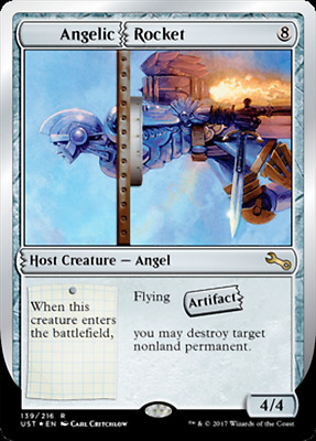 MTG Unstable UST Choose your Rare Card - New - Buy 2 save 25%