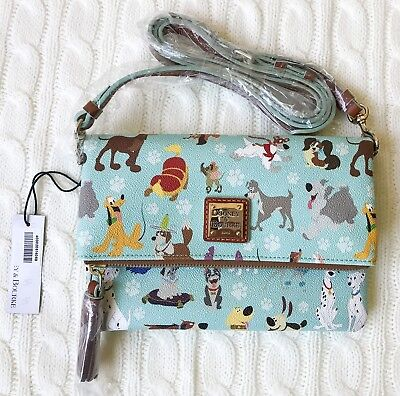 Title: NWT Disney Dogs Dooney and Bourke Crossbody Foldover Purse Bag