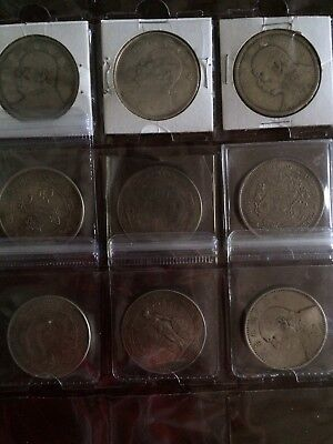 Lot Of 9 Chinese Coins