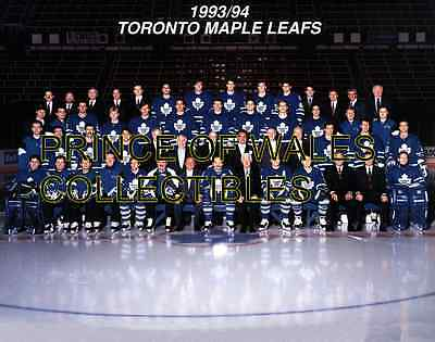 1994 Toronto Maple Leafs Team Photo 8X10