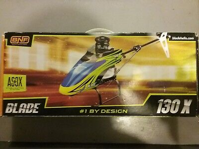 Blade 130X RC Helicopter (BNF) with Spares