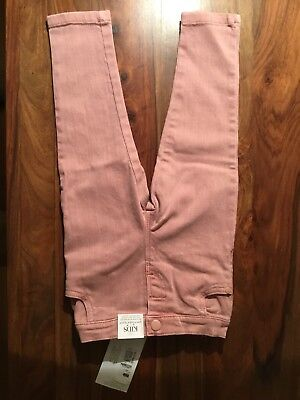 Baby Girl's M&S Pink Jeans. Age 12-18 Months BNWT