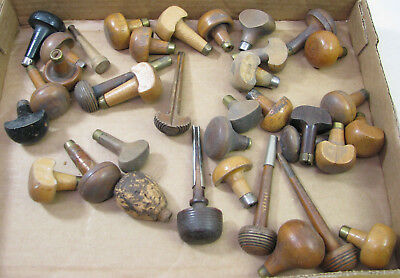 Large Lot Of Vintage Watchmaker Engraving Tool Handles Watch Tool Parts