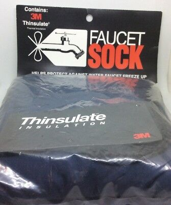 Custom Products 3M Thinsulate Outdoor Wall Faucet Sock Cover