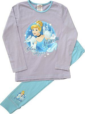 Girls Disney Princess Cinderella Pyjamas Age 4 to 8 Years