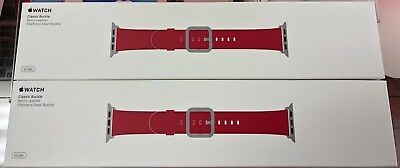 Apple Watch 42mm Classic Buckle (Berry) Leather Band