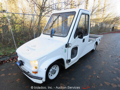 2011 Taylor Dunn Trident N0-460-48 Electric Cart Car NEV  Vehicle Flatbed Cab