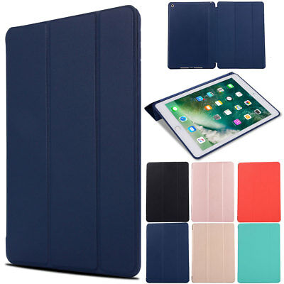 For iPad 5th Generation 9.7 inch 2017 Magnetic Stand Leather Smart Cover Case