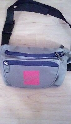 Coca Cola Fanny Pack Waist Pack Tote Gray with Red Logo New