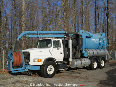 1995 Ford L9000  Ford L9000 T/A Vactor Combination Sewer Rodder Vaccum Vactor Truck bidadoo