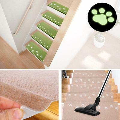 Luminous Visual Stair Carpet Pad Staircase Mats Anti-Skid Treads Home Decor LD