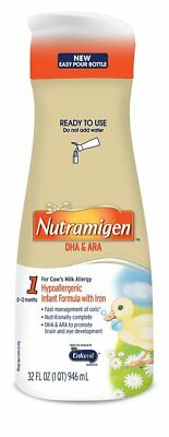 Enfamil Nutramigen Infant Formula, Ready to Use, 32 Fluid Ounce Bottle