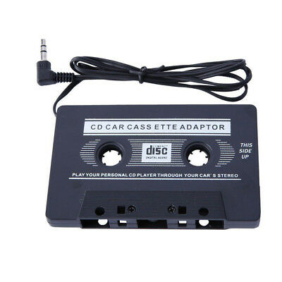 Music Player Audio Car Cassette Tape Adapter to Aux Cable 3.5mm Jack For iPod CD