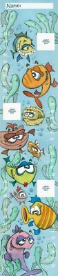 NIP Eric Sturtevant Growth Chart - Playful Funny Fish with places for photos