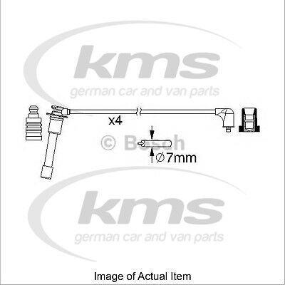 New Genuine BOSCH Ignition Lead Cable Kit 0 986 357 149 Top German Quality