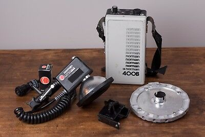 Norman 400B Battery-Operated Photography Strobe