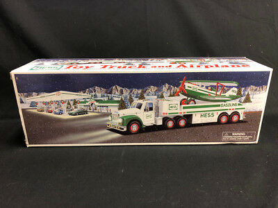Hess Toy Truck and Airplane 2002 NIB