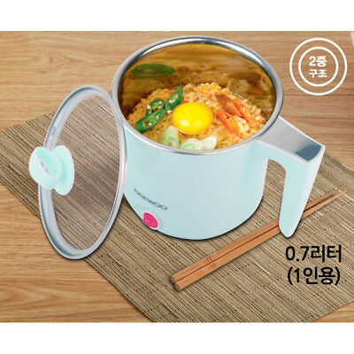 Daewoo Electric Hot Pot Multi Cooker Noodle Pot Travel Camping DEN-M900