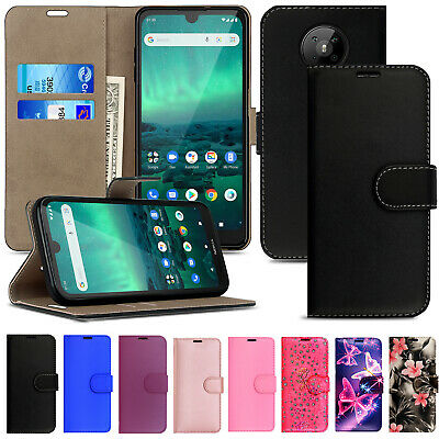 For Nokia 1 2 2.2 3.1 3.2 5.1 7.1 Plus Premium Leather Wallet Flip Case Cover
