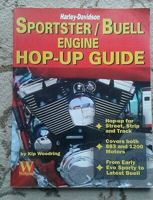 Harley Davidson Sportster Buell Hop Up Guide 883 1200 1000 XB Tuning Book