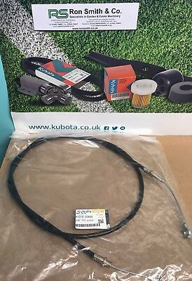 GENUINE Kubota PTO Clutch Control Cable Fits G2160 K1310-25430 FREE DPD DELIVERY