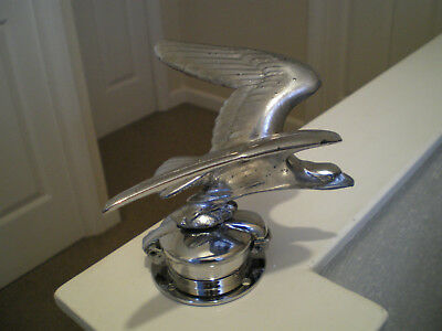 Vintage Alvis Speed Eagle Radiator Cap Mascot As Fitted To The Speed 20-25-Model