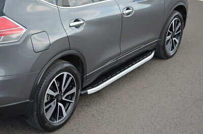 Aluminium Side Steps Bars Running Boards To Fit Nissan X-Trail (2014+)