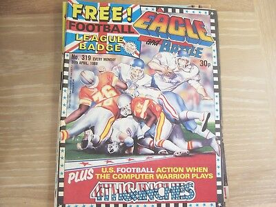 Eagle and Battle Comic 2nd Series No 319 1988