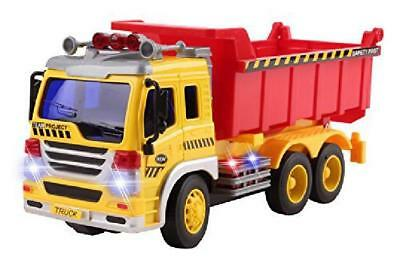 Christmas Gift Remote Control Dump Truck RC Construction Full Function Vehicle