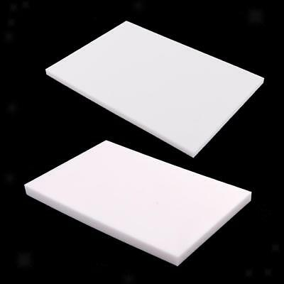 2pcs 5/8mm White Rubber Carving Block for DIY Rubber Stamp Making Printing