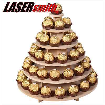 80+ Ferrero Rocher Table Top Display Sweet Chocolate Pyramid Wedding Stand